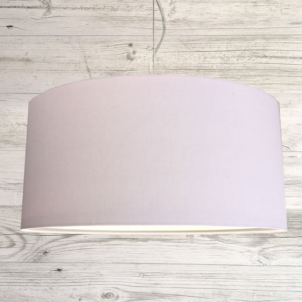 pale Pink Drum Shade